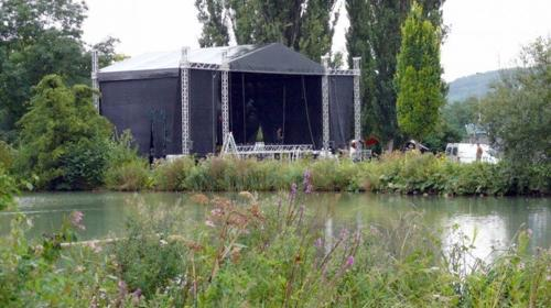 Bühne 12x10 m - Prolyte MPT-Ground Support
