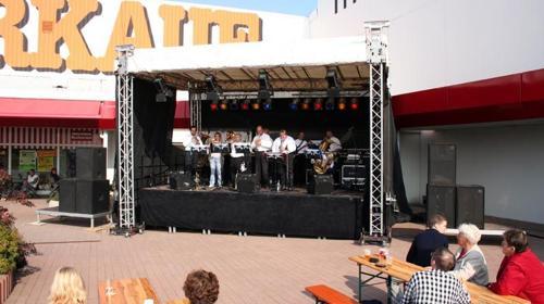 6x4 m Bühne / Open Air Bühne / Event Bühne / Show Bühne