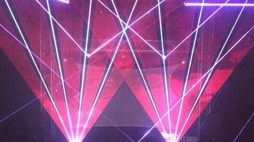 Lasershow für Hochzeit, Geburtstag, Party, etc.