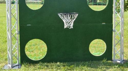 Torwand XXl mit Basketballkorb!