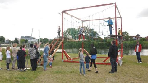 Kinderhochseilgarten - Klettergarten mieten