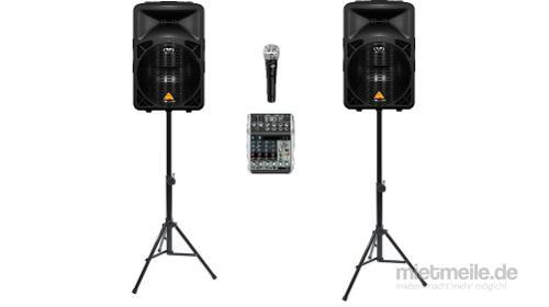 ANGEBOT: PA-Musikanlage (PA-Tontechnik mit 1600 Watt RMS)