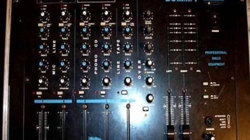 DJ Mixer I Regiepult