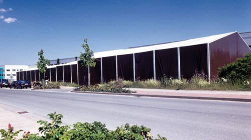 Leichtbauhalle, Lagerhalle, Lagerzelt 17,50x55m