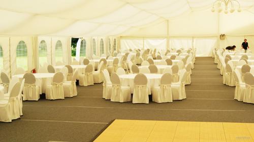 Firmenfeier, Hochzeit, Geburtstag, Jubiläum - Zelt/ Location mit Ausstattung für Ihr Event 101 - 200 Personen first class