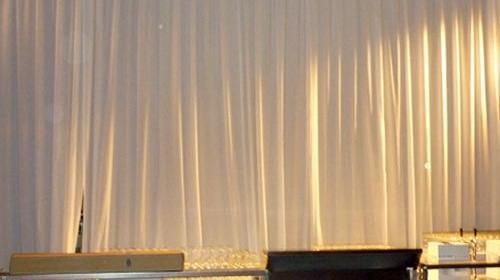Seitenbehang gerafft für Ihre Eventdekoration