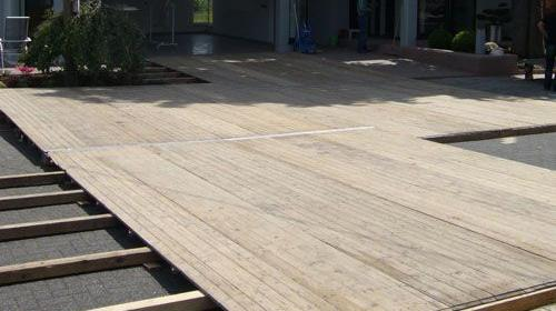 Zeltboden aus Holz/Tanzfläche - Tanzboden ab 75m²