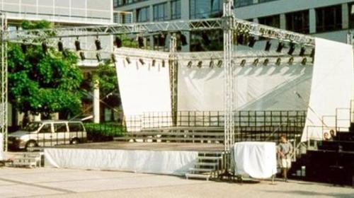 Ground Support, 8 x 12 m