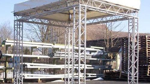Überdachung Traversendach Traverse 3 x 4 m