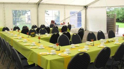 Firmenfeier, Hochzeit, Geburtstag, Jubiläum - Zelt/ Location mit Ausstattung für Ihr Event 50 - 100 Personen Gehoben Plus