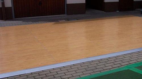 Tanzfläche/Tanzboden/Boden aus Parkett, hochwertig