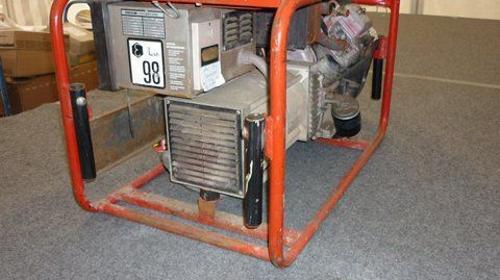 Stromerzeuger/Notastromaggregat Endress ESE804 DBS