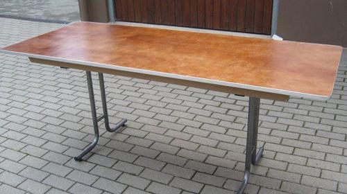 Klapptisch rechteckig 183x76 cm