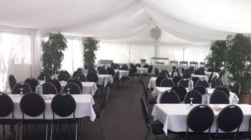 Firmenfeier, Hochzeit, Geburtstag, Jubiläum - Zelt/ Location mit Ausstattung für Ihr Event 50 - 100 Personen first class