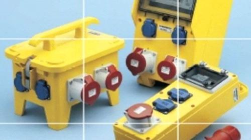 Baustromverteiler - Unterverteiler 32A