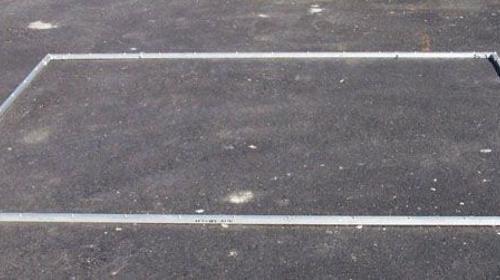 Leinwandgestell 3 x 4 m