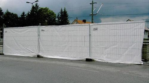 Sichtschutzplane für Zaun, inkl. Kabelbinder