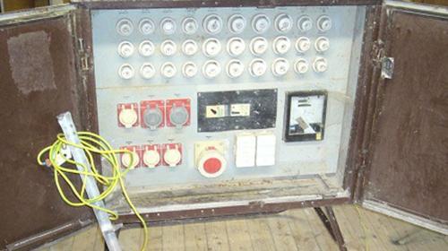 Baustromschrank 125A - Baustromverteiler