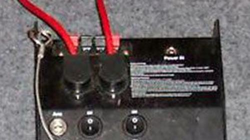 Le Maitre Pyroflash, Controller 2-kanal klein