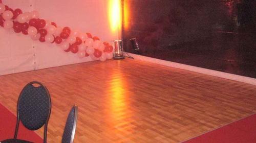 Tanzboden - Tanzfläche - Bodenbelag, Kunststoff