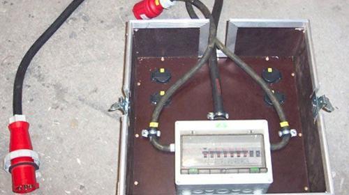 Baustromverteiler - Unterverteiler 63A