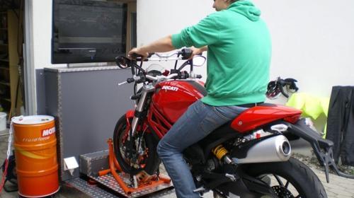 Rennsimulator Motorrad