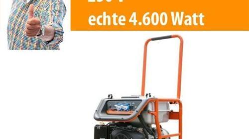 380 V - 3.000 / 230 V bis 5.400 W Stromaggregat