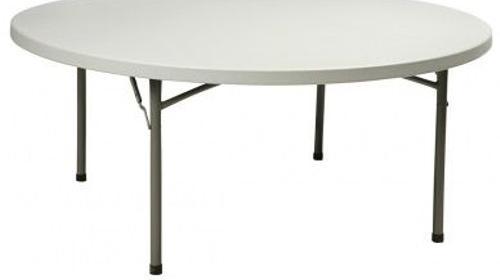 Klapptisch/Banketttisch (Tischdecken, Stühle uvm.)
