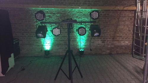 Verleih von Lichttechnik für Partys