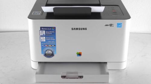 Laserdrucker Farbe Laser Drucker Samsung Netzwerkdrucker Ethernet / USB Farblaserdrucker