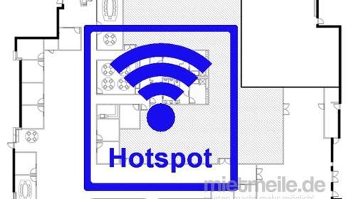 Internet WiFi Hotspot 50 Personen LTE Funk WLAN Vodafone - z.B. für Messe Aussteller und Pressebüro