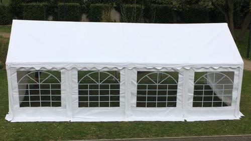 Zeltverleih Festzelt Partyzelt von 3x6m bis 5x20m, Anfrage Lieferung und Aufbau