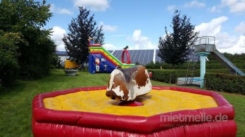 Bullriding Rodeo Anlage Bullen reiten