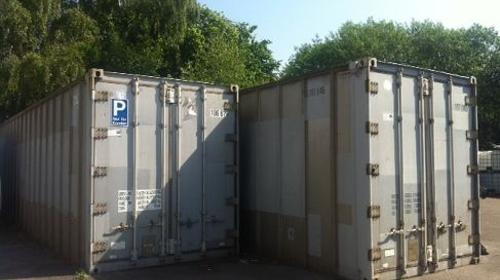 2 x Lagercontainer 28 qm