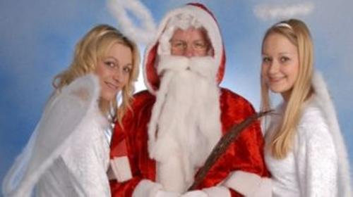 Familien-Weihnachtsshow für Ihr Firmenevent, Ballonzauberei, Clown, Zauberer, Hüpfburg, Ballonclown, Ballontiere, Luftballonfiguren, Kinderdisco, Kinderparty, Ballonzauberei