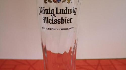 Glas 0,5 l / Bierglas / Weizenbierglas / Eventausstattung