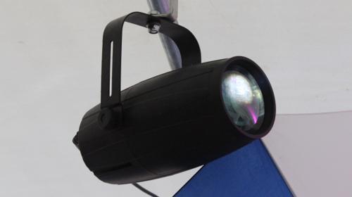 Pinspot / Punktstrahler (weiß) / Scheinwerfer / Lichteffekte / Eventausstattung