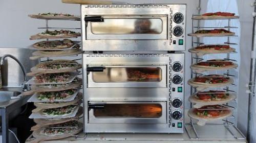 Pizzaofen / Pizza / Flammkuchenofen /Flammkuchen / Ofen / Backen