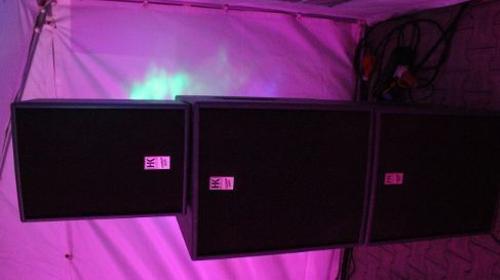 """SIGMA 4.8"""" Aktiv System / Beschallungsanlage 4.800 Watt / Lautsprecher / Boxen"""