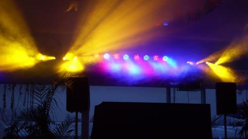 LED FLAT PAR QWH5 Floorspot