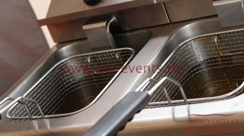 Friteuse doppelt / Gastrofriteuse / Gastronomie / Friteuse