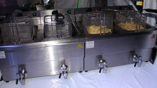 Friteuse 1-fach / Gastrofriteuse / Gastronomie / Friteuse