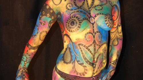 Kunst am Körper - Bodypainting