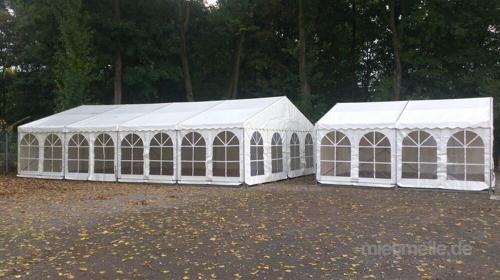 Zelt mit Boden 6 x 3 m