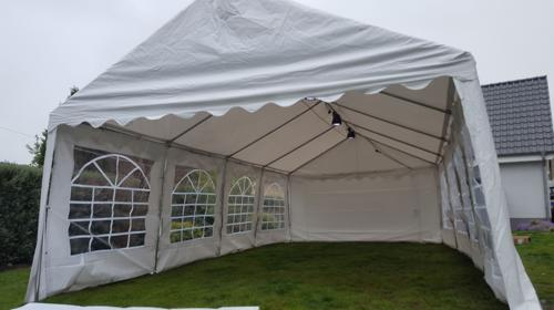 8x4m Zelt für alle Arten von Veranstaltungen, Partyzelt, Festzelt, Eventzelt, Pagodenzelt, Pavillon