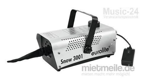 Schneemaschine Schneekanone Snow Machine inkl. Fluid