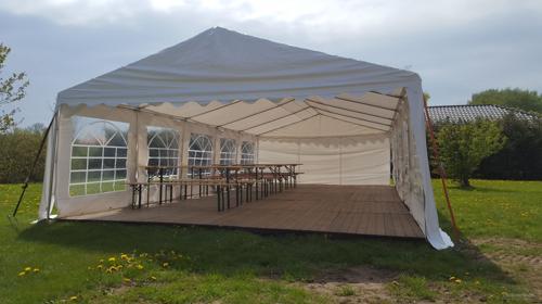 10x5m Zelt für alle Arten von Veranstaltungen, Partyzelt, Festzelt, Eventzelt, Pagodenzelt, Pavillon
