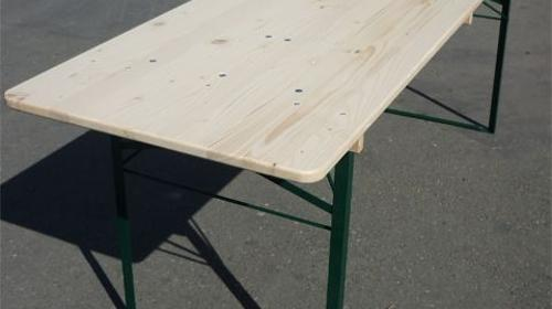 Festzelttisch 70cm für Ihr Bierzelt