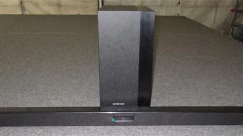 kompaktes Heimkinosystem, Soundbar