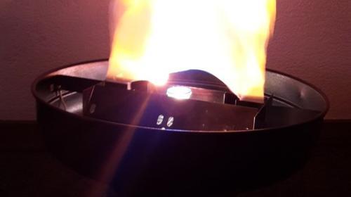 Feuer Effekt Schale